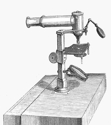 J. Molteni � Paris. Horizontal microscope