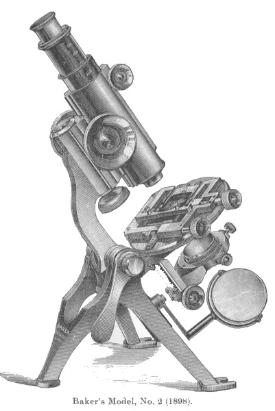 The Baker-Nelson No. 2 microscope