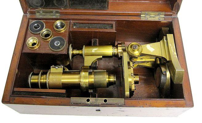 Franz Schmidt & Haensch, Berlin, No. 256. Middle model No. 4,. c. 1870 stored in the case