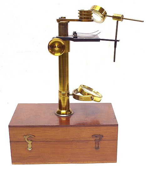 Botanical-Entomological Microscope. The School Microscope