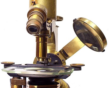 schrauer microscope mirror