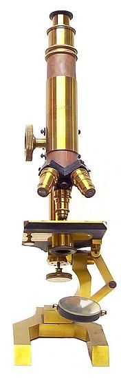 Seibert #5257. The No. 4 model microscope, c.1887