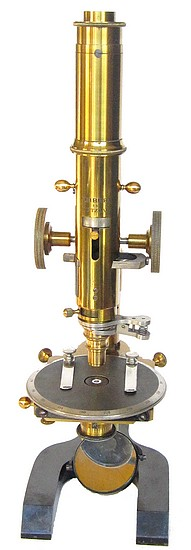 Seibert in Wetzlar No. 8984. Petrological (Polarizing) Microscope, c. 1898