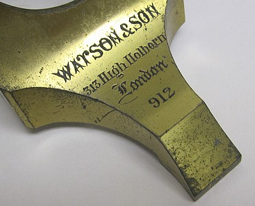 Watson & Son 313 High Holborn London #912