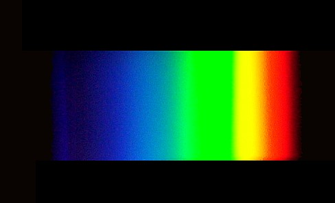 Fluorescent Light Spectrum