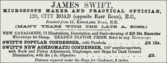 James swift advertisement