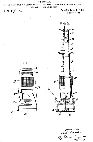Hensoldt Wetzlar #11721, tami portable microscope