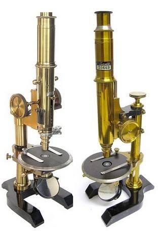 two Seibert petrological microscopes