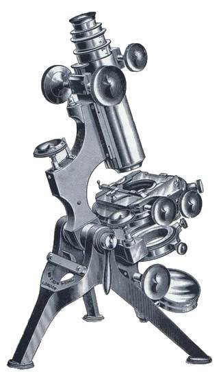 Watson Van Heurck Microscope