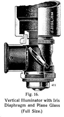 Zeiss vertical illuminator