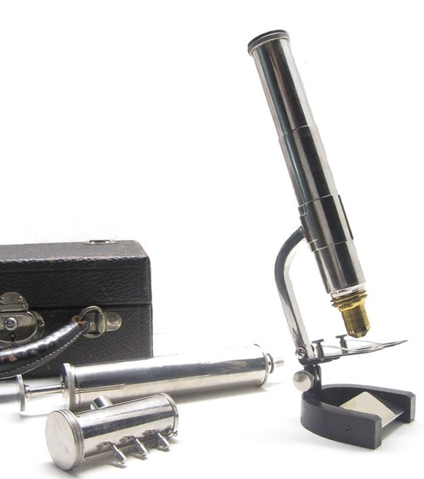 veterinary blood analysis microscope