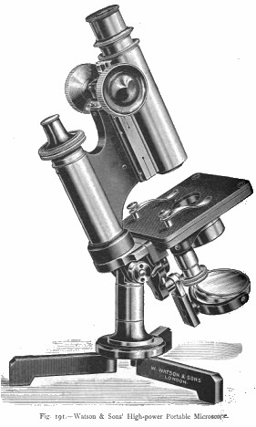 W. Watson & Sons Ltd- Portable Microscope