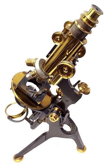 W. Watson & Sons 313 High Holborn London #10251. The Van Heurck No.1 model microscope, c. 1908