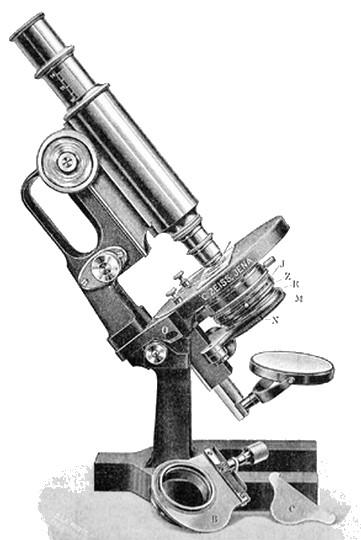zeiss iiie- jug handle microscope