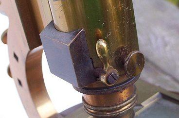 j. & w. grunow, #594 - binocular microscope ,nosepiece
