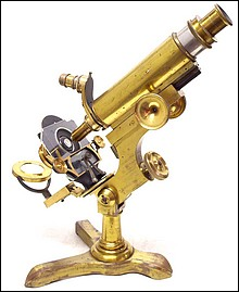 L. Schrauer, Maker, New York. Schrauer's Physicians Model Microscope, c. 1880